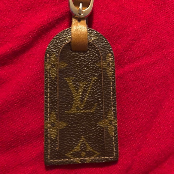 "9baa24a60689 Louis Vuitton Other - ""RARE""VINTAGE MONOGRAM LOUIS VUITTON LUGGAGE TAG"